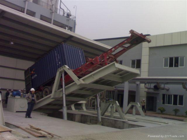 集装箱卸货装置Truck Dump System
